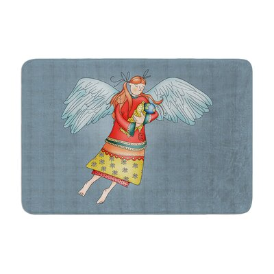 Carina Povarchik Guardian Angel Memory Foam Bath Rug