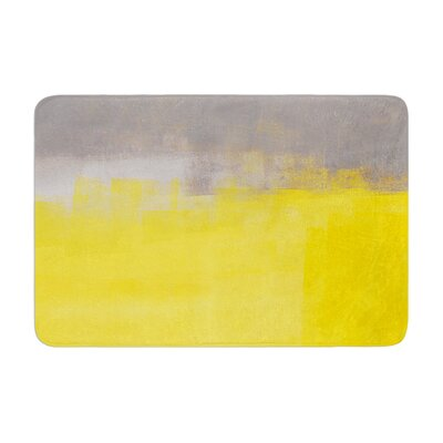 CarolLynn Tice a Simple Abstract Memory Foam Bath Rug