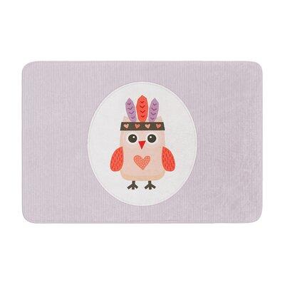 Daisy Beatrice Hipster Owlet Memory Foam Bath Rug