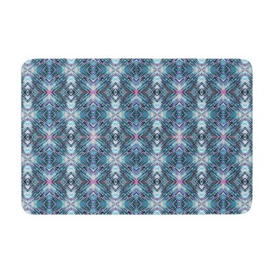 Danii Pollehn Native Pattern Geometric Memory Foam Bath Rug