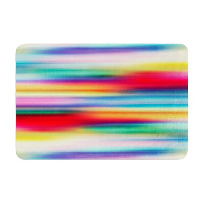 Danny Ivan Blurry Cool Blur Memory Foam Bath Rug