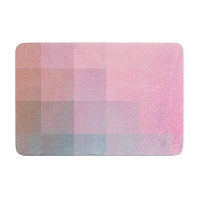 Danny Ivan Girly Pixel Surface Memory Foam Bath Rug