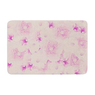 Deepti Munshaw Bouquet Roses Memory Foam Bath Rug