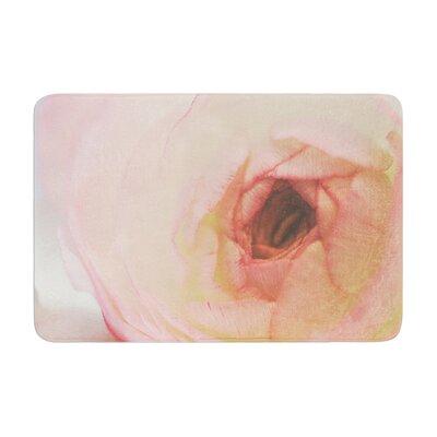 Debbra Obertanec Tranquil Rose Memory Foam Bath Rug