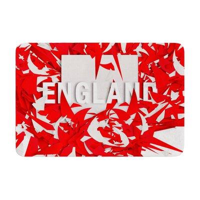 Danny Ivan England World Cup Memory Foam Bath Rug