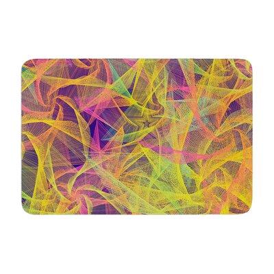 Danny Ivan Blend Everywhere Abstract Memory Foam Bath Rug