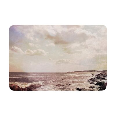 Debbra Obertanec Rocky Coast Sea View Memory Foam Bath Rug