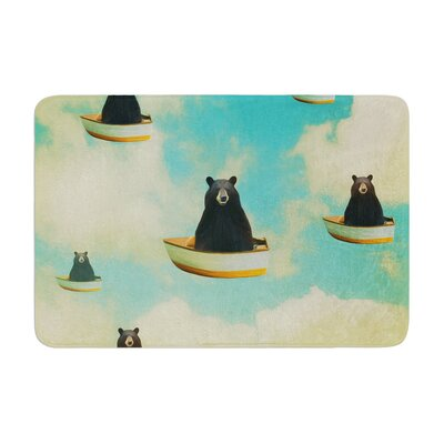 Natt Bears Floating Animals Memory Foam Bath Rug