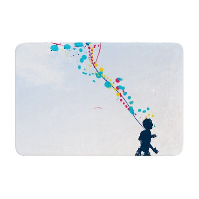 Frederic Levy Hadida Child Creation Chronicle Memory Foam Bath Rug