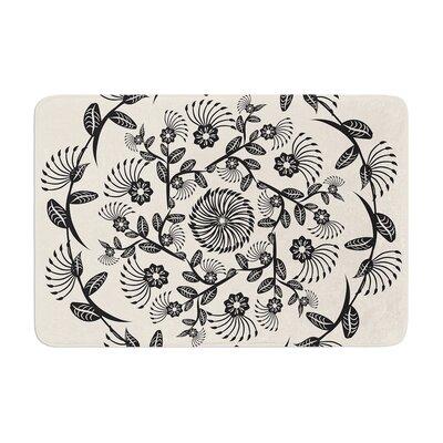 Famenxt Decorative Mandala Geometric Memory Foam Bath Rug