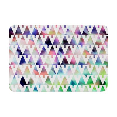 Gabriela Fuente X Mas Party Geometric Memory Foam Bath Rug