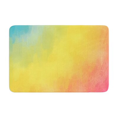Fotios Pavlopoulos Watercolor Layers Memory Foam Bath Rug