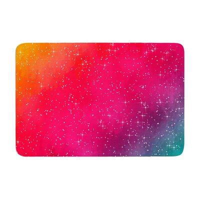 Fotios Pavlopoulos Colorful Constellation Glam Memory Foam Bath Rug