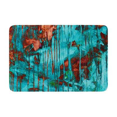 Iris Lehnhardt Rusty Paint Memory Foam Bath Rug