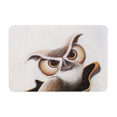 Graham Curran Lucid June Owl Memory Foam Bath Rug
