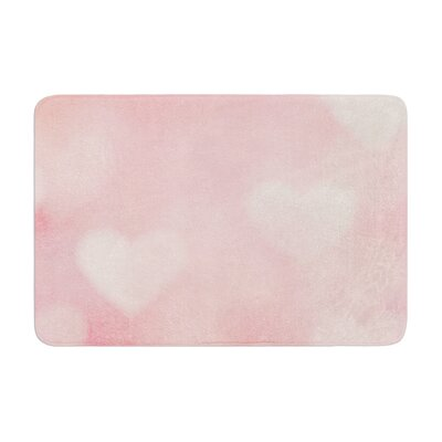 Heidi Jennings Love is in the Air Memory Foam Bath Rug