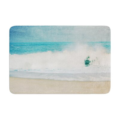 Ingrid Beddoes Ocean Wave Memory Foam Bath Rug