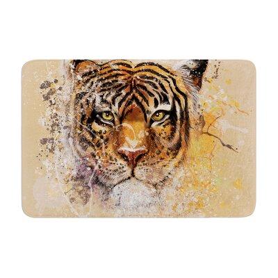 Geordanna Cordero Fields My Tiger Memory Foam Bath Rug