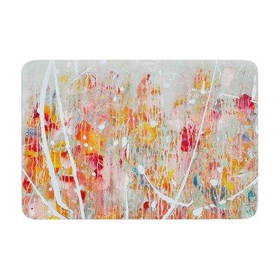 Iris Lehnhardt Joy Splatter Paint Memory Foam Bath Rug