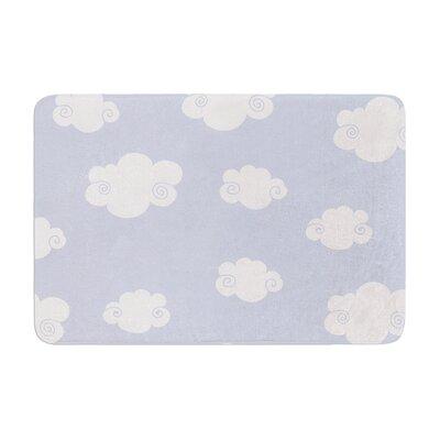 Heidi Jennings Happy Clouds Memory Foam Bath Rug