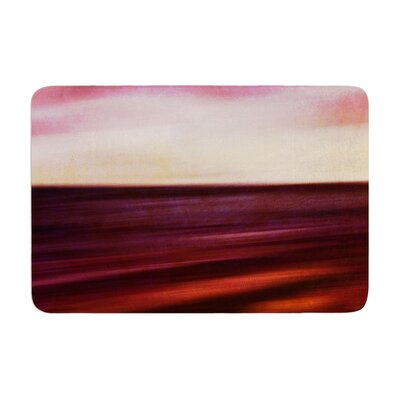 Iris Lehnhardt Seascape Sunset Memory Foam Bath Rug