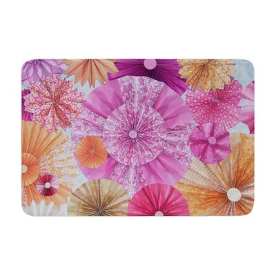 Heidi Jennings Blossoming Memory Foam Bath Rug