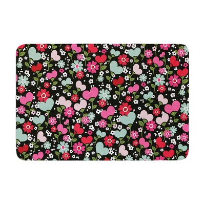 Heidi Jennings Love is Growing Memory Foam Bath Rug