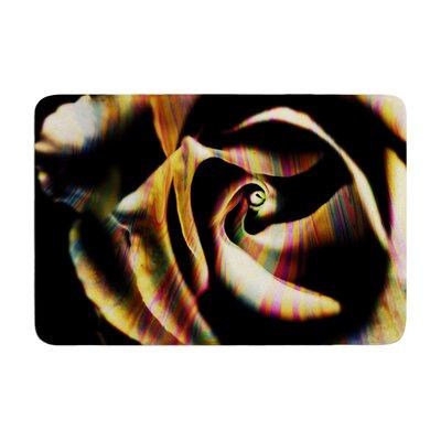Ingrid Beddoes Rose Swirl Memory Foam Bath Rug