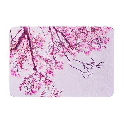 Iris Lehnhardt Magnolia Trees Branches Memory Foam Bath Rug