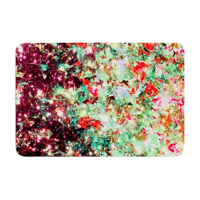 Ebi Emporium Mistletoe Nebula Memory Foam Bath Rug