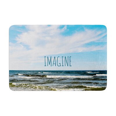 Iris Lehnhardt Imagine Beach Sky Memory Foam Bath Rug
