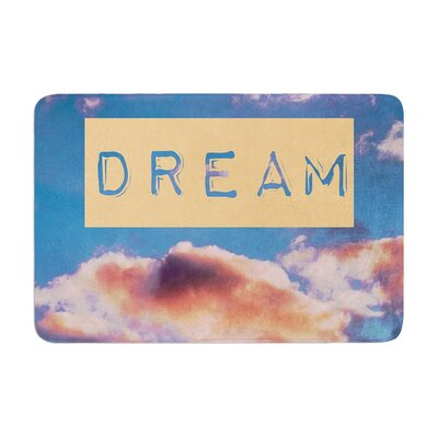 Iris Lehnhardt DREAM Clouds Memory Foam Bath Rug