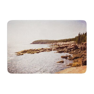 Jillian Audrey the Maine Coast Coastal Memory Foam Bath Rug