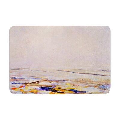 Iris Lehnhardt Hazy Sunrise Memory Foam Bath Rug