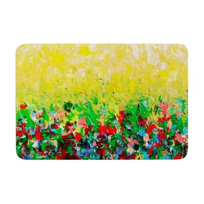 Ebi Emporium My Paintings Memory Foam Bath Rug