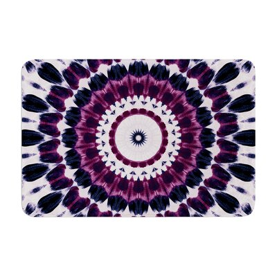 Iris Lehnhardt Batik Pattern Geometric Memory Foam Bath Rug
