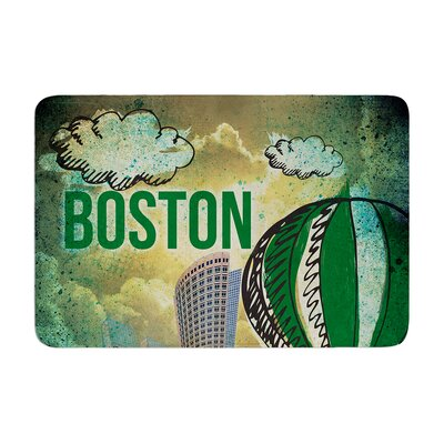 iRuz33 Boston Memory Foam Bath Rug