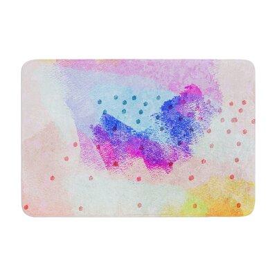 Iris Lehnhardt Summer Painting Memory Foam Bath Rug