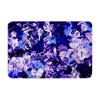 Ebi Emporium Floral Fantasy Memory Foam Bath Rug