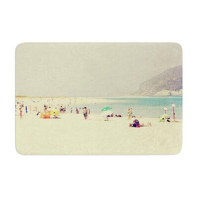 Ingrid Beddoes Lazy Days Summer Beach Memory Foam Bath Rug
