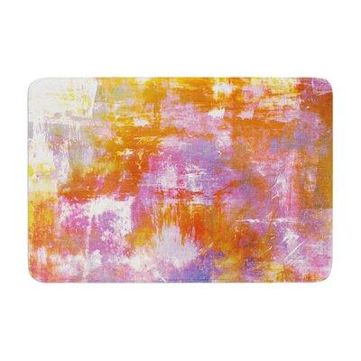 Ebi Emporium off the Grid II Painting Memory Foam Bath Rug