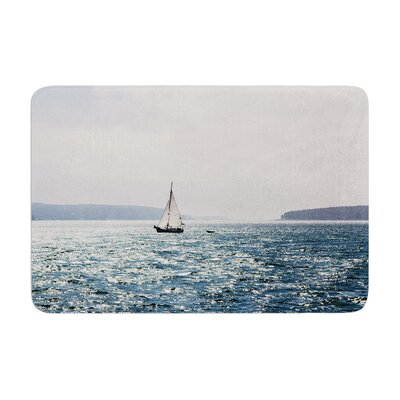 Jillian Audrey Sail the Sparking Seas Memory Foam Bath Rug