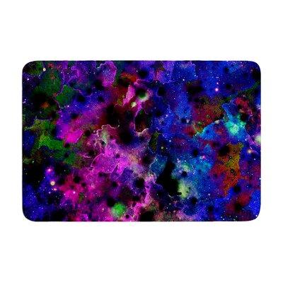 Ebi Emporium Color Me Floral Celestial Memory Foam Bath Rug