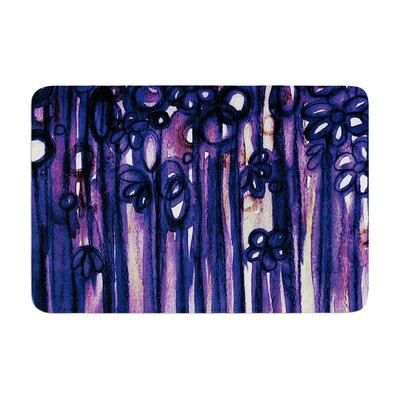 Ebi Emporium Winter Garden Ombre Memory Foam Bath Rug Color: Violet