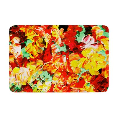 Ebi Emporium Floral Fantasy II Memory Foam Bath Rug