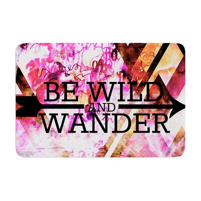 Ebi Emporium Be Wild and Wander Memory Foam Bath Rug