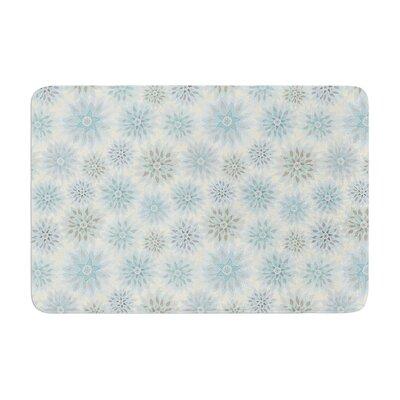 Julia Grifol My Delicate Flowers Memory Foam Bath Rug
