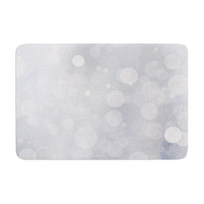 Glass Bokeh Memory Foam Bath Rug