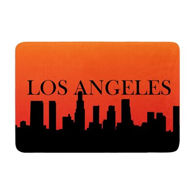 Los Angeles Memory Foam Bath Rug