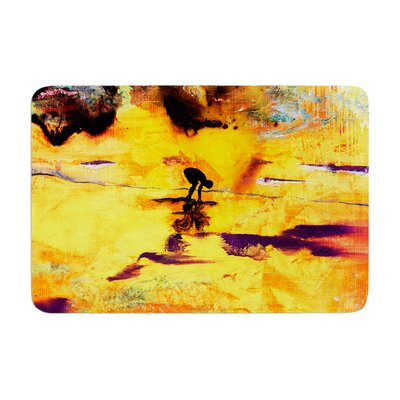 Josh Serafin Pool of Life Abstract Memory Foam Bath Rug